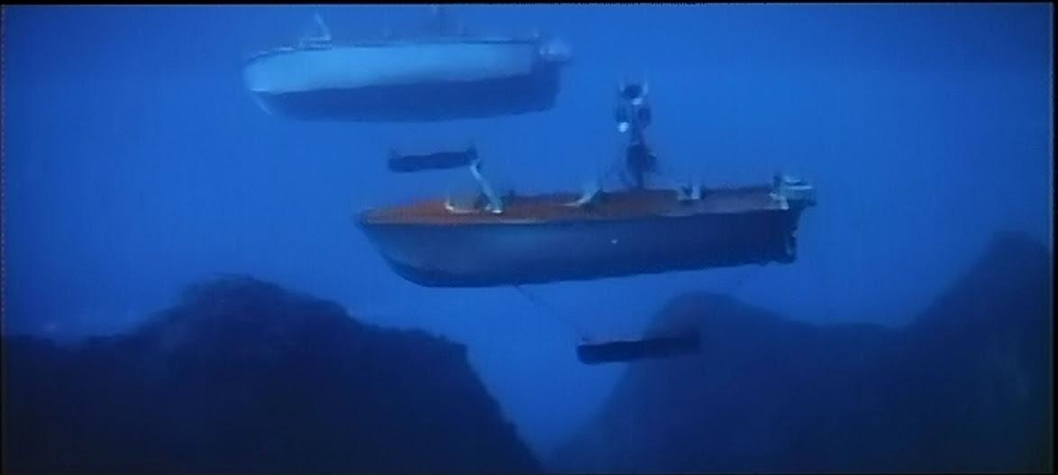Underwater speakers, Nikkatsu style.
