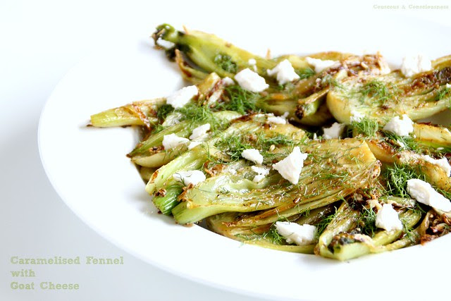 Caramelised Fennel with Goat Cheese 1