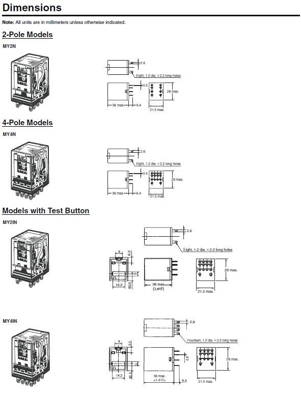 Omron Relay Wiring Diagram