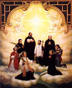 ST ISAAC JOGUES, Jean de Brébeuf and Companions
