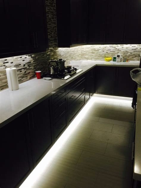 cabinet led lighting kitchen counter  unit led