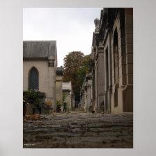 Père Lachaise Cemetery - 1 Print print