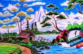 Gambar Pemandangan Alam Dan Gunung