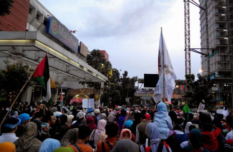 islamedia.co aksi palestina bandung