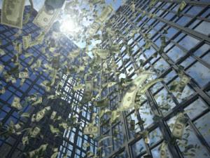 Dollar rain (value destruction)