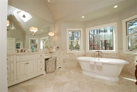 elegant master bathroom overview momentum construction