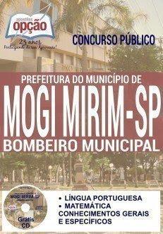 Apostila Prefeitura de Mogi Mirim-SP BOMBEIRO MUNICIPAL