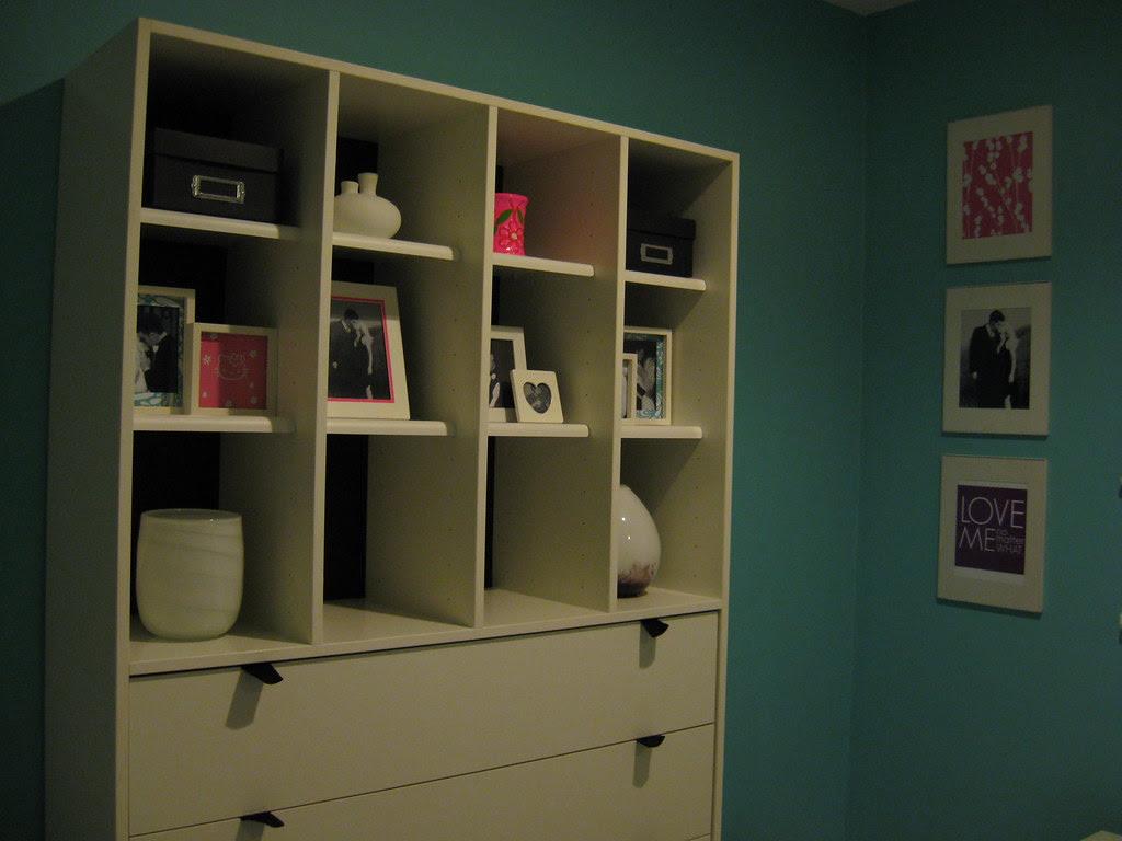 IKEA Dresser in Bedroom - jan 2010