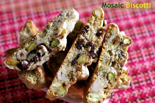 Mosaic Biscotti