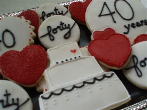 24 best images about 40th Anniversary Ideas on Pinterest