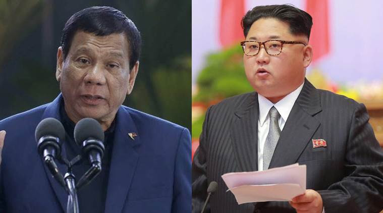 Rodrigo Duterte, Kim Jong Un, Phillipine President, North korea, Rodrigo Duterte comment on Kim Jong Un, North korea missile tests