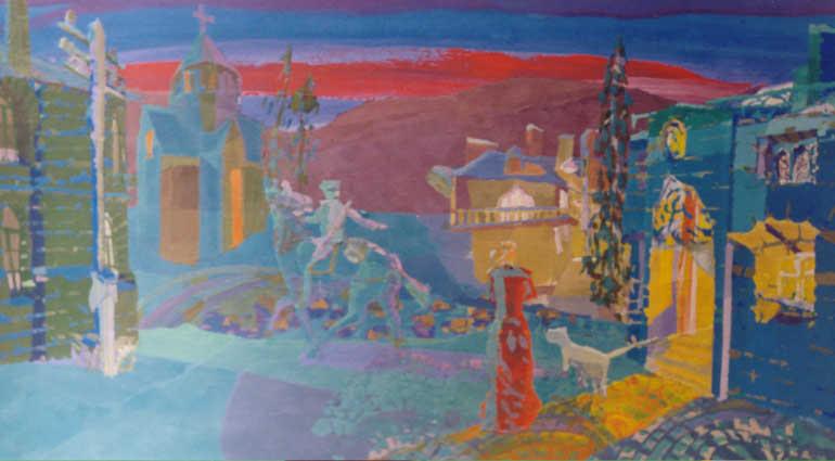 Russian blind artist 8