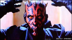 Ray Park as The Phantom Menace's Darth Maul