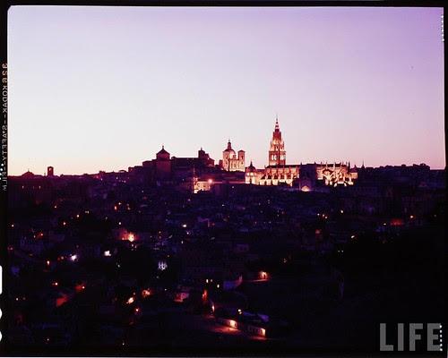 Vista de Toledo en 1963. Fotografía de Dmitri Kessel. Revista Life (1)