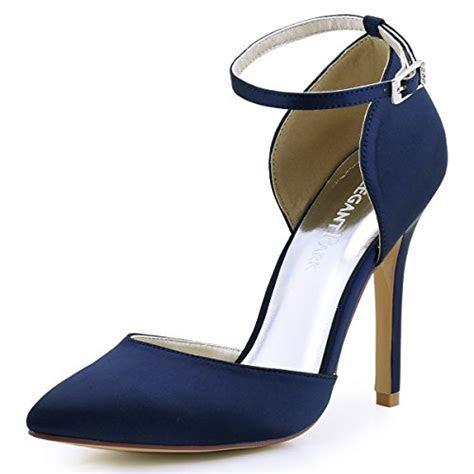 ElegantPark HC1602 Women's Pointed Toe High Heel Ankle