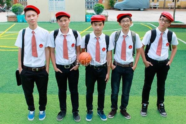 đồng phục trường thpt nguyễn khuyến quận 10