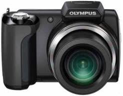 OLYMPUS デジタルカメラ SP-610UZ ブラック 1400万画素 光学22倍ズーム 広角28mm 3Dフォト機能 SP-610UZ BLK