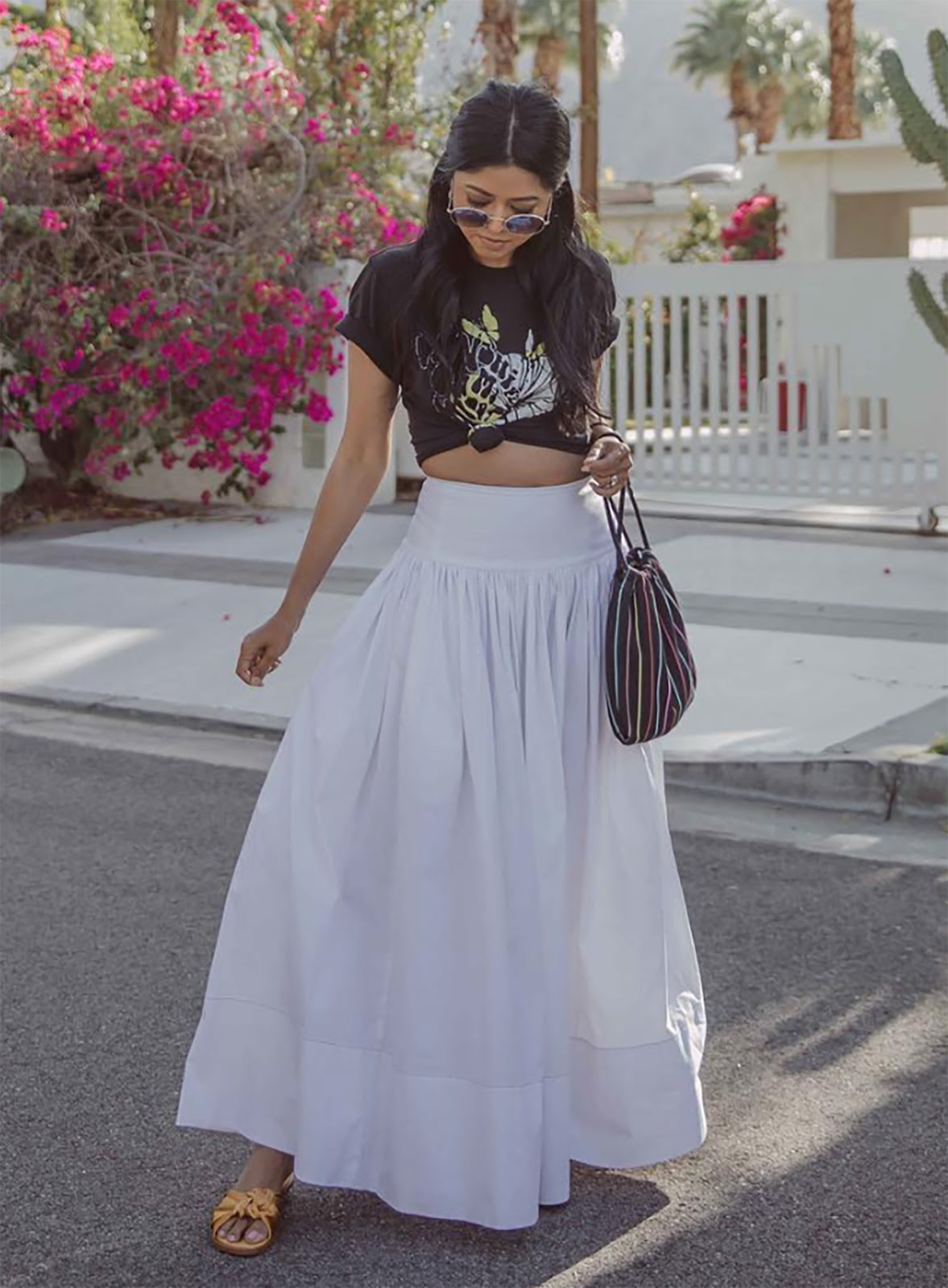six ways to wear a maxi skirt  2018 summer outfits
