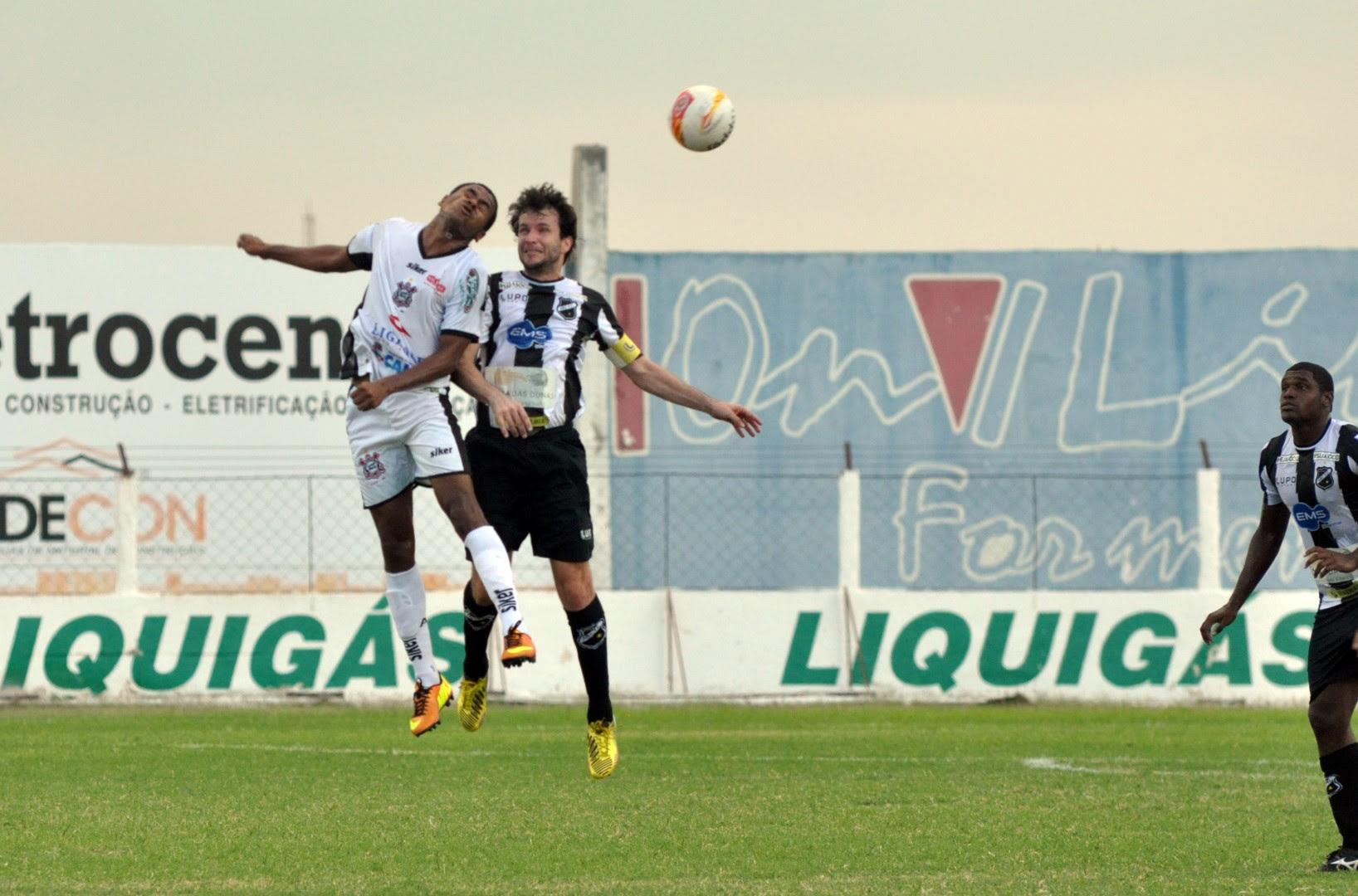Corintians de Caicó e ABC se enfrentaram hoje no Marizão; partida terminou em 1 a 1