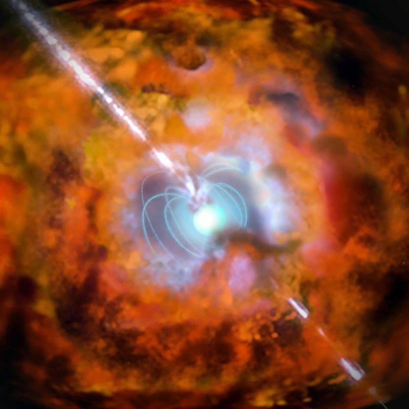 estrelas antigas hipernovas