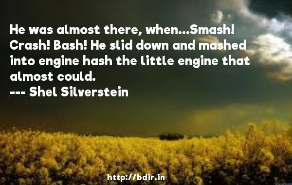 Shel Silverstein He Was Almost There Whensmash Crash Bash