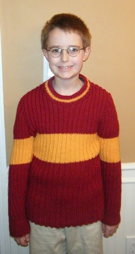 All Things Shea: Harry Potter Quidditch Sweater