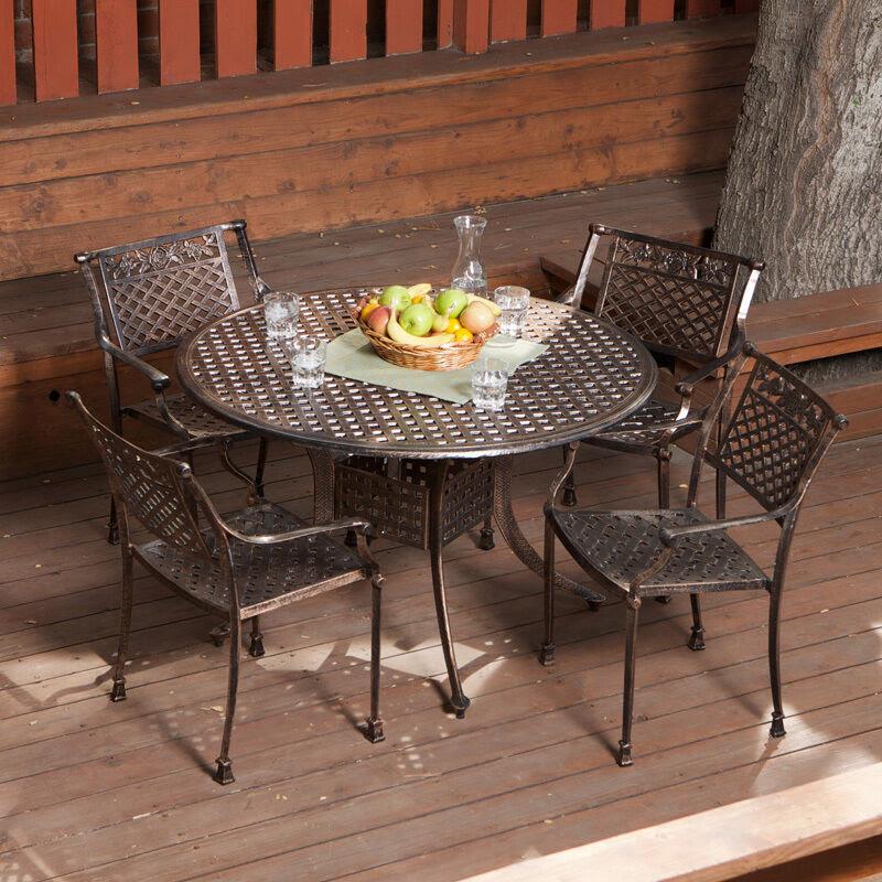 Cast Aluminum: Ebay Cast Aluminum Patio Furniture