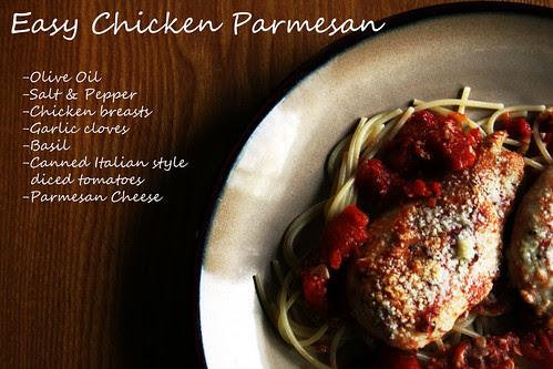 Easy Parmesan Chicken