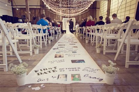 {DIY} Personalized Aisle Runner   Oh Lovely Day
