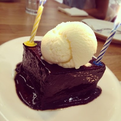 #chocolate #icecream #cake #sweet #dessert #sgfood #food #cake  (Taken with Instagram)