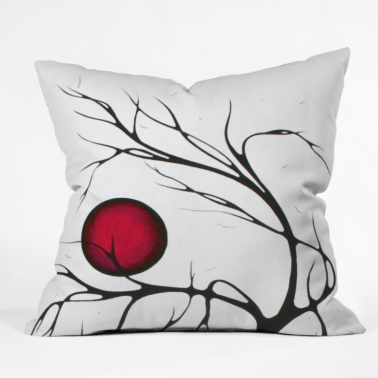 Madart Inc. Together As One Throw Pillow