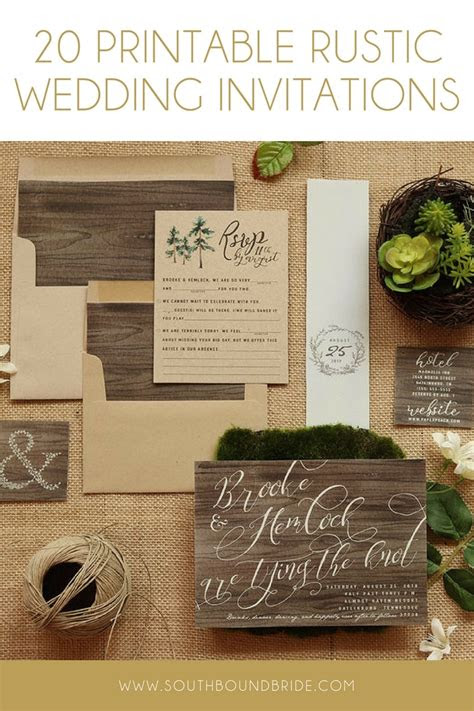 wedding invitation interesting rustic wedding invitations