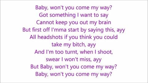 My Way Lyrics Fetty Wap Ft Monty