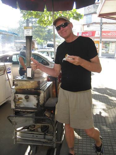 street pastry vendor