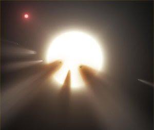 Megaestrutura alienígena agora conta com triplo sinal