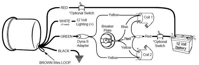 19 Inspirational Sport Comp Tach Wiring Diagram