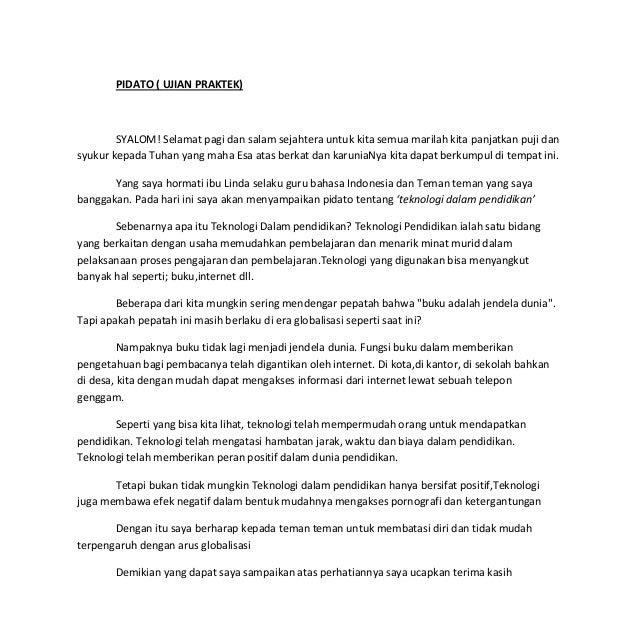 Contoh Teks Pidato Bertema Pendidikan - Kumpulan Referensi ...