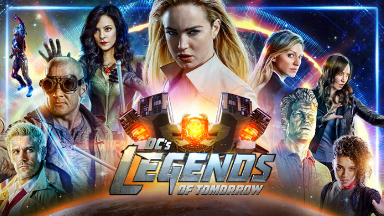Legends Of Tomorrow Dc S Legends Of Tomorrow Wallpaper 43191797