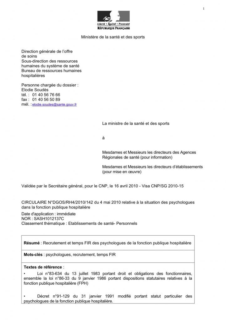 lettre de motivation stagiairisation fonction publique