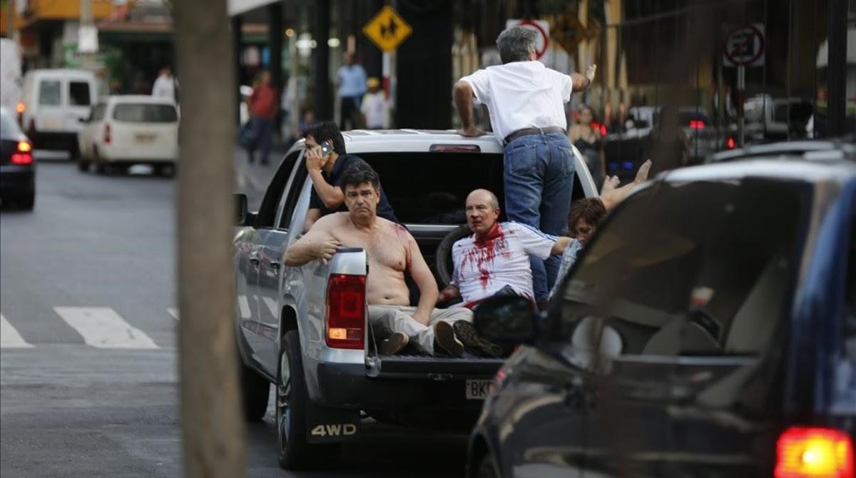 Resultado de imagen para MUERTO JOVEN LIDER EN PARAGUAY