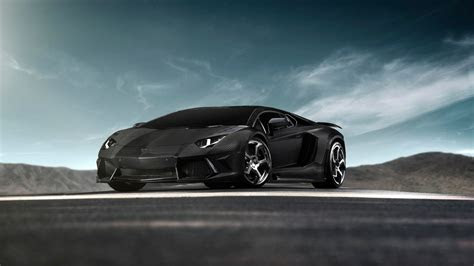 hd wallpaper lamborghini aventador dark