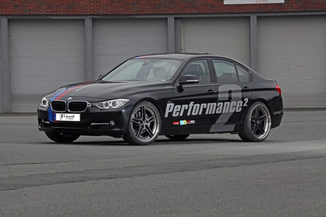 Schmidt Revolution BMW 335i F30 Tuning Program