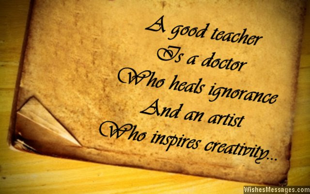Quotes About Teachers Inspiring Students. QuotesGram