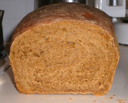 Inside of Oatmeal Bread from VBoAWCB