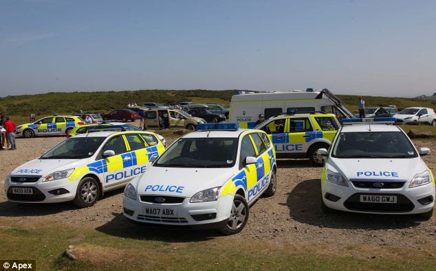 999 call: Emergency services rushed to Haytor on Dartmoor, but could not save Mrs Hooper and Joshua