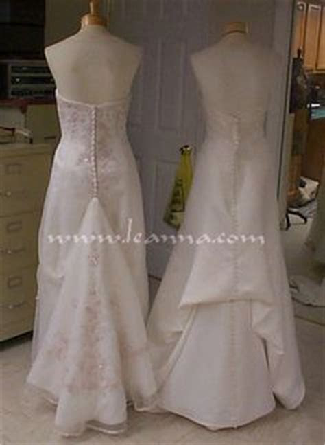 How to Attach a Loop & Button to Hold Up a Wedding Dress