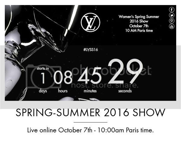 Louis Vuitton spring summer 2016 show livestream