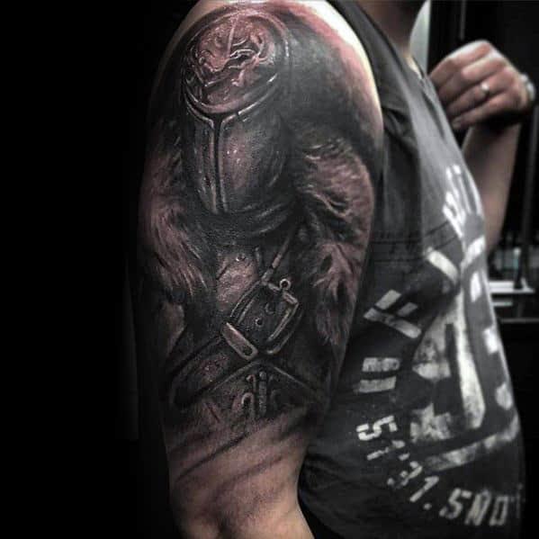 70 Dark Souls Tattoo Designs For Men - Video Game Ideas