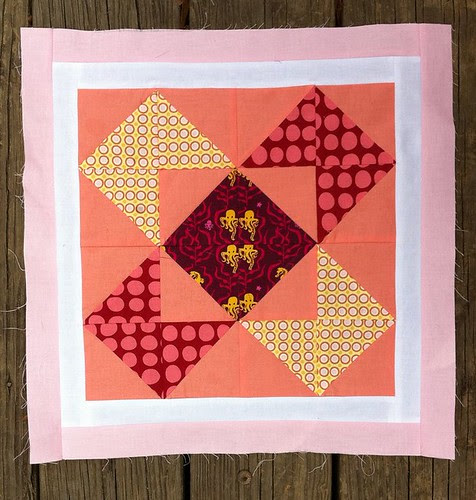 February VIBees block for Amy