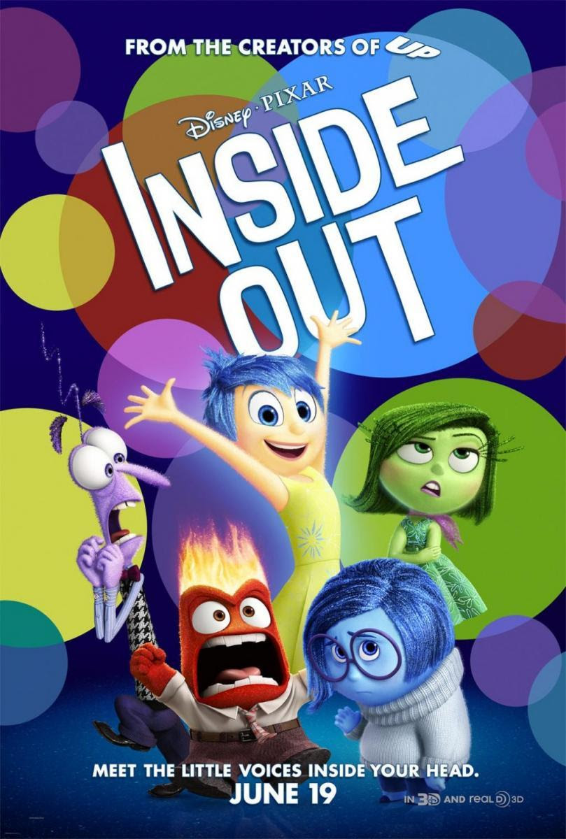 Del revés, Inside Out, película, blog de cine, blog solo yo, solo yo,